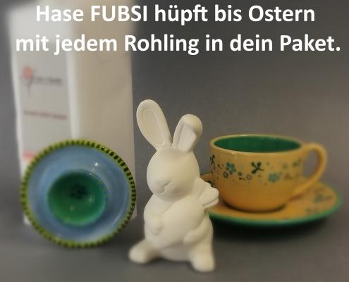Keramik Osterhase